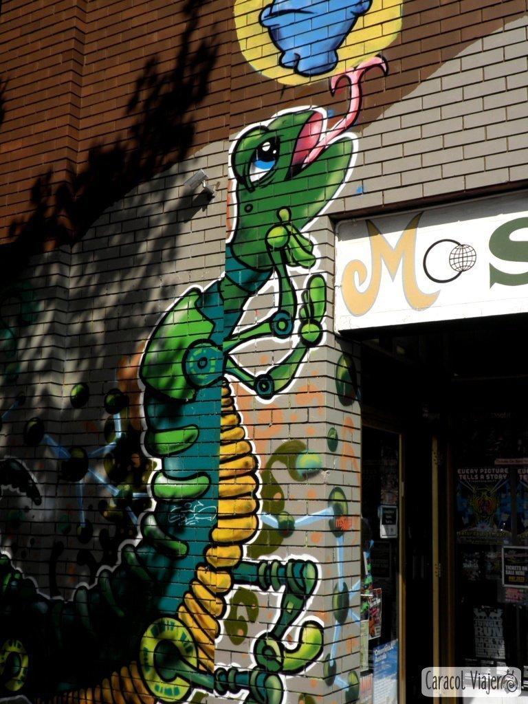 Grafiti en Barrio de Fitzroy