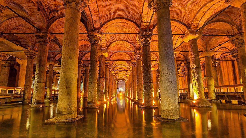 Estambul cisterna - Palacio