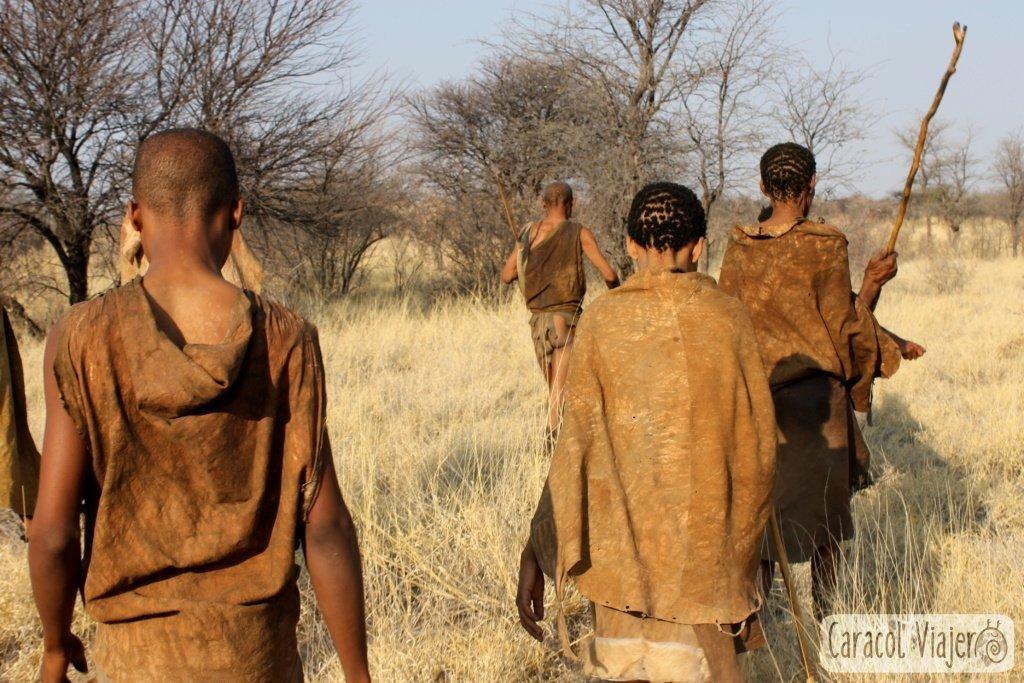 tribu de los Khoisan-Botsuana