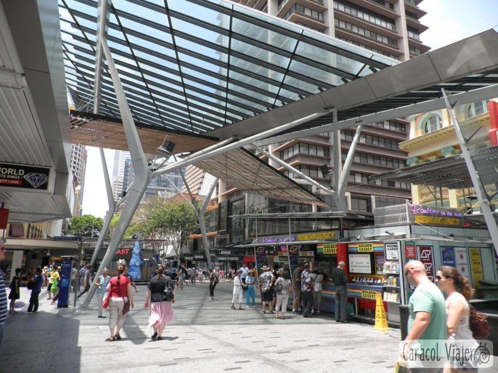 Queen Street Mall - Actividades Brisbane