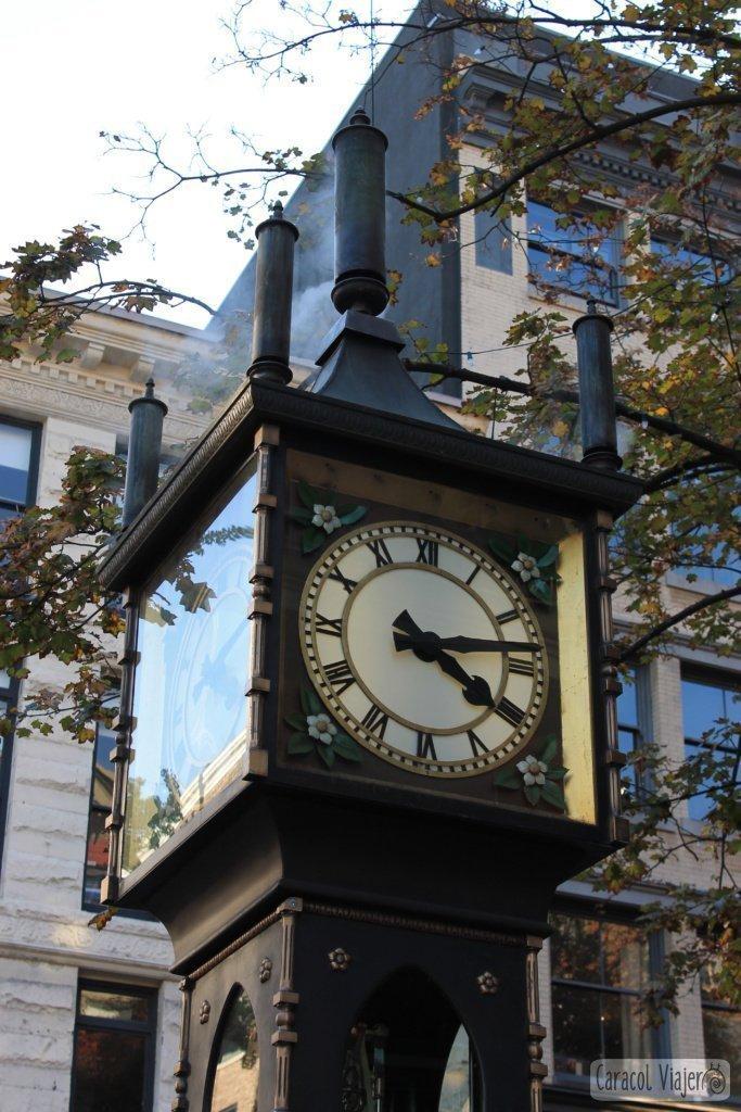 atracciones-de-Vancouver-reloj-vapor-Gastown