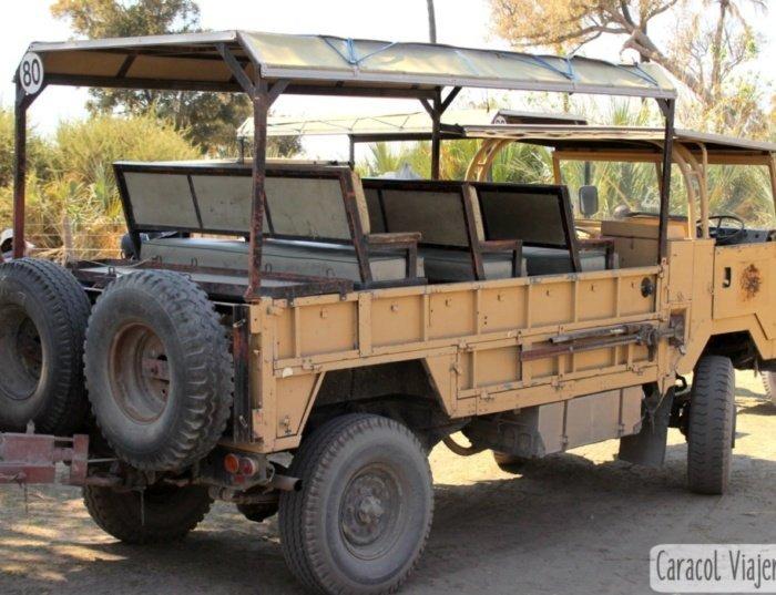 Transporte en Botsuana
