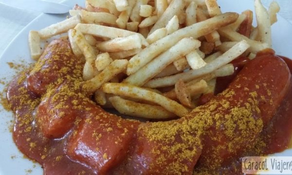 Currywurst alemana | Salchicha con salsa de curry