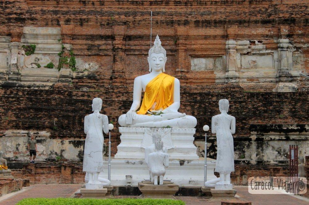 Buda en Templo de Yai Chai