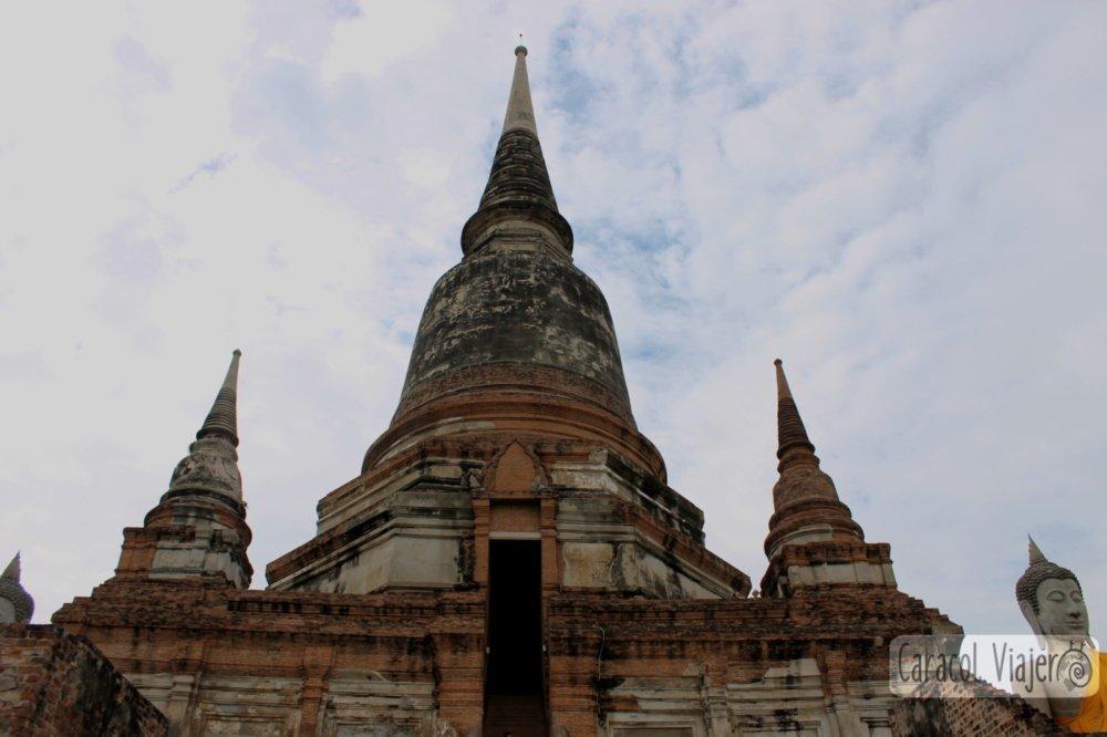 Yai Chai Mongkol temple, Ayutthaya en imágenes