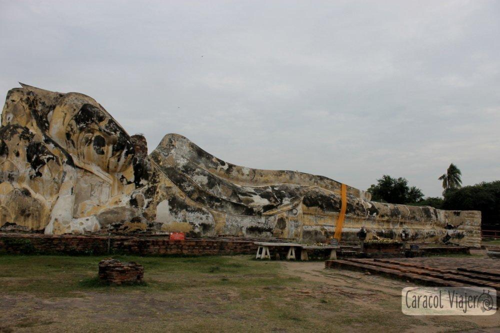 Wat Lokayasutharam - merece la pena visitar Ayutthaya