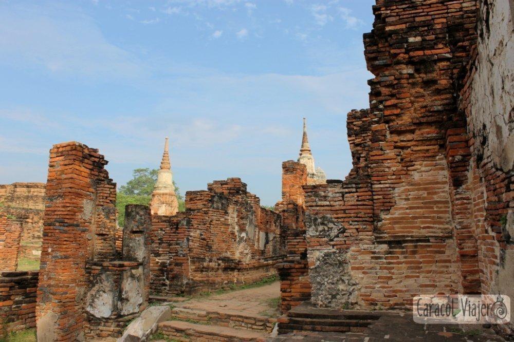 Wat Mahathat Ayutthaya en imágenes