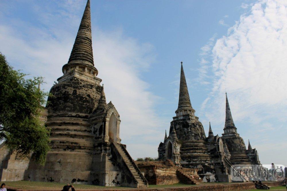 Wat Phra Sri Sanphet - Ayutthaya en imágenes