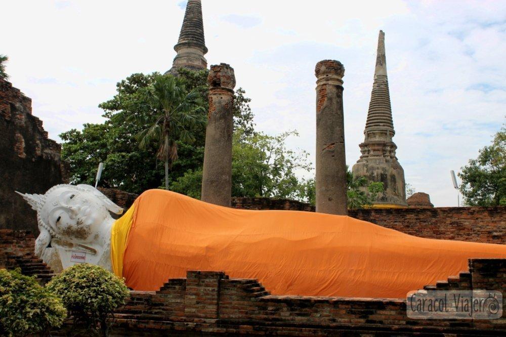 Temple Yai Chai Mongkol, Buda - Ayutthaya en imágenes
