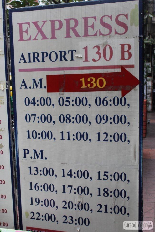 Traslado aeropuerto Bangkok en Minivan