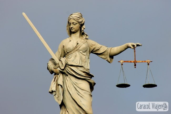 Lady Justice - Dublin