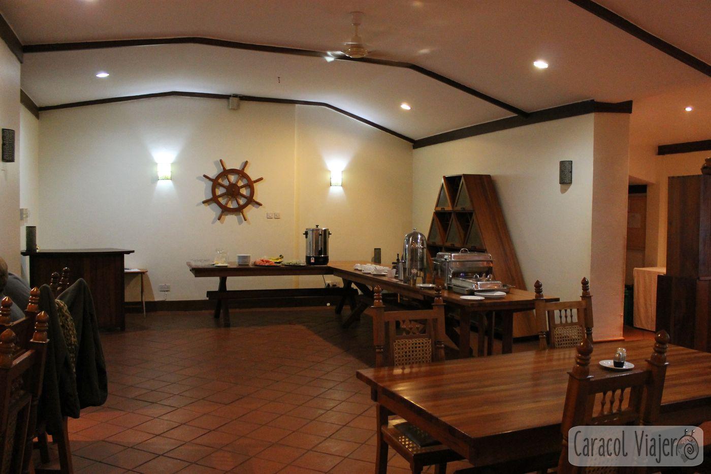 Comedor hotel Masindi
