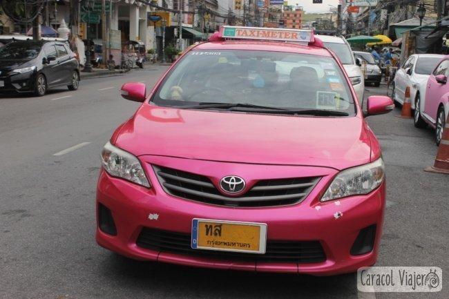 Taxi oficial de Bangkok, Tailandia