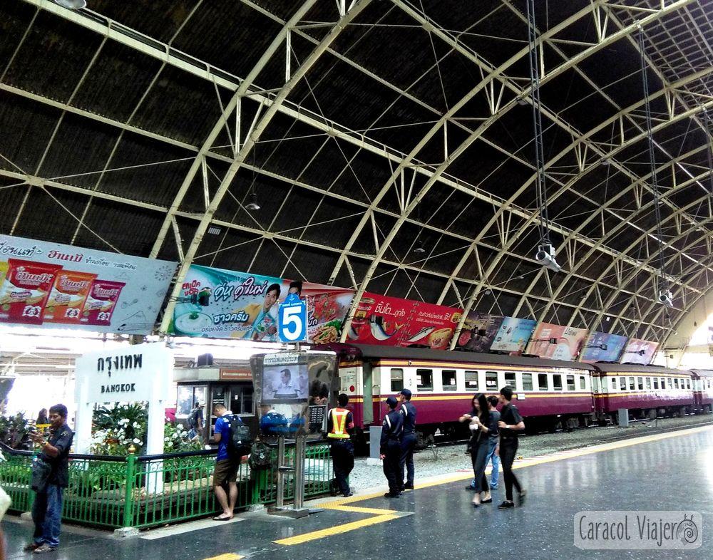 Bangkok - Ayutthaya tren