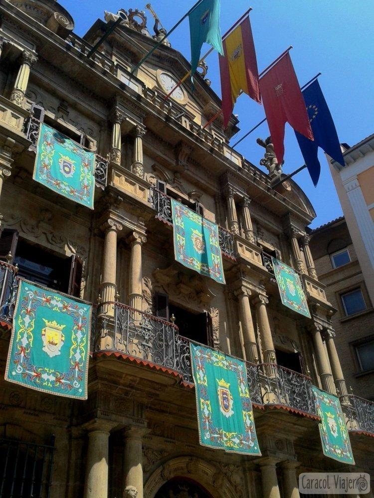 qué ver en Navarra Ayuntamiento de Pamplona - Navarra más que San Fermín