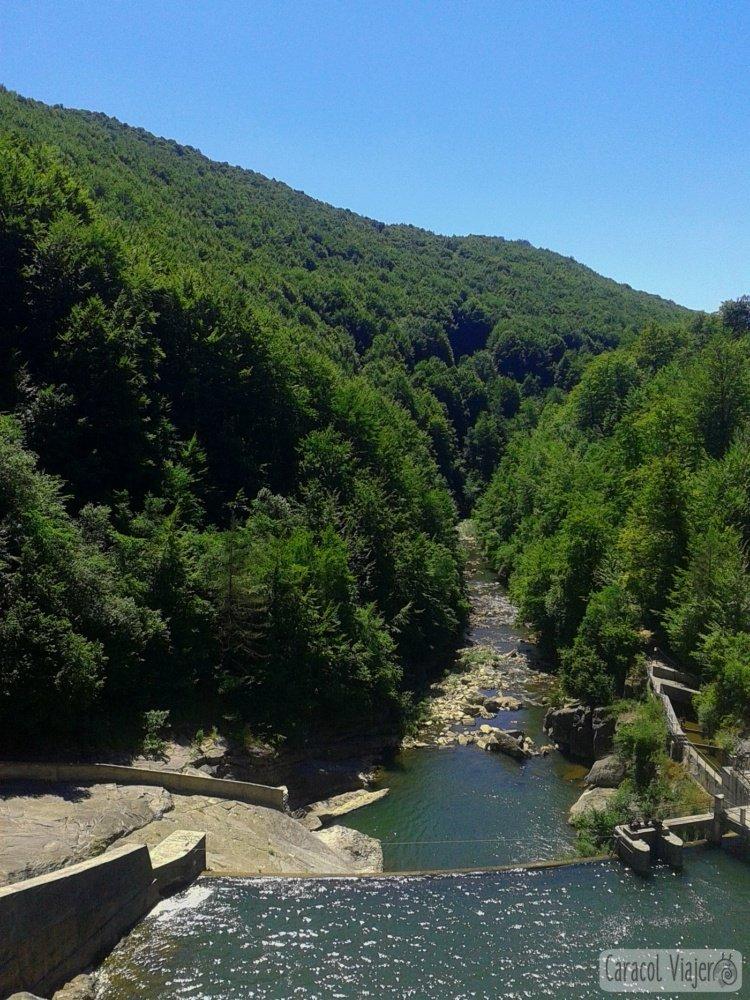 Presa emblase de Irabia, Selva de Irati, Navarra