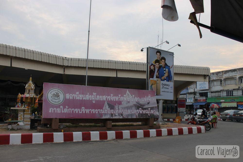 Estación de autobús Phitsanulok, Tailandia