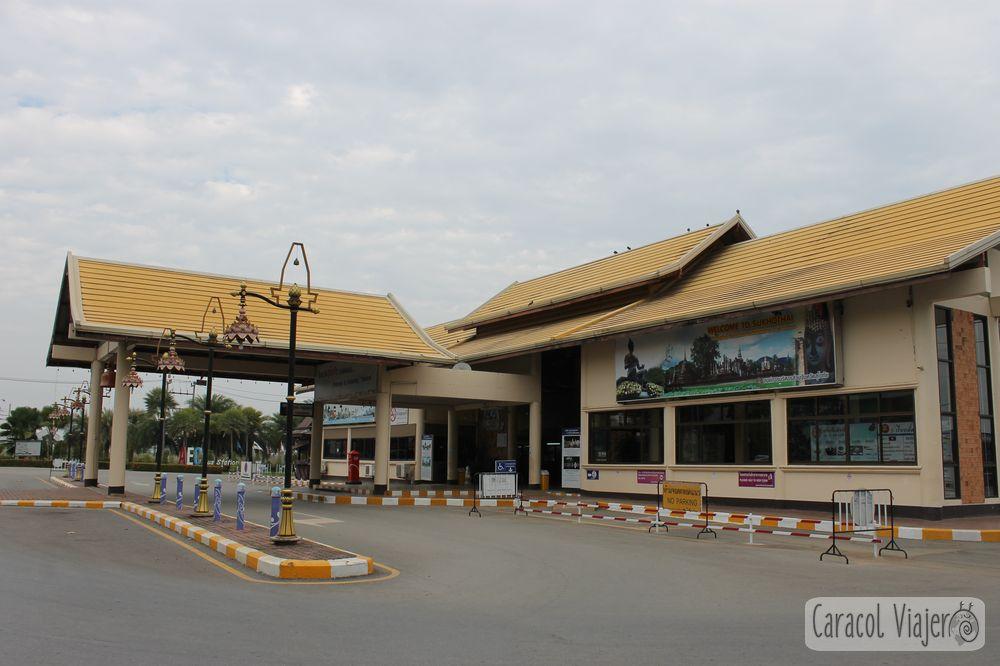Estación bus Sukhothai, Tailandia