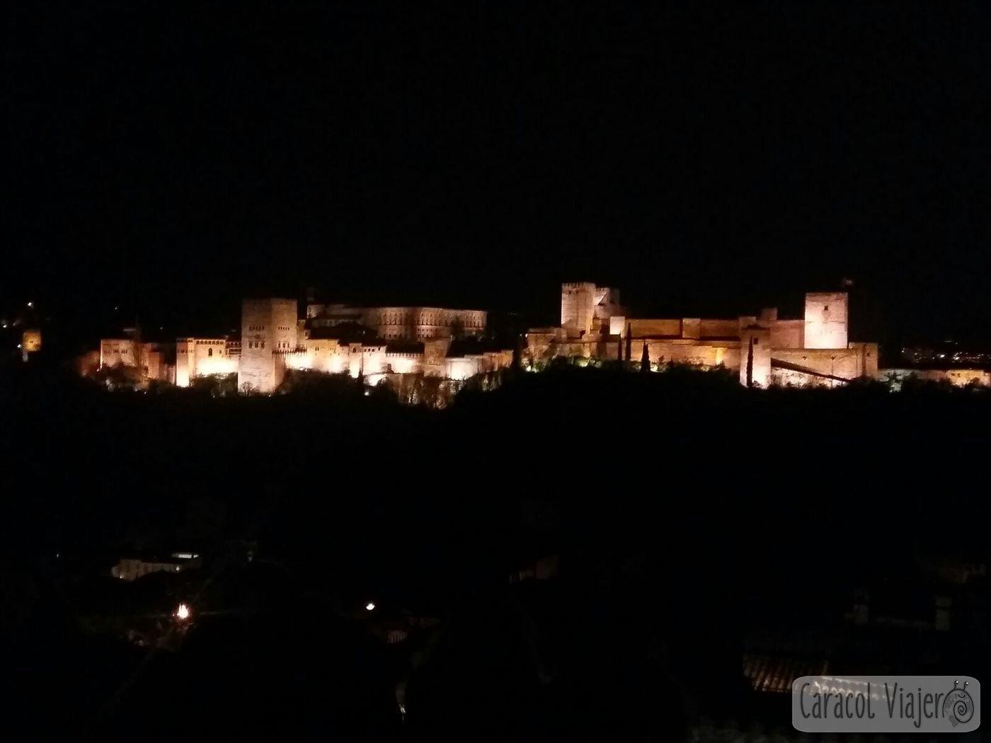 Escapada a Granada Alhambra vista Mirador San Nicolás
