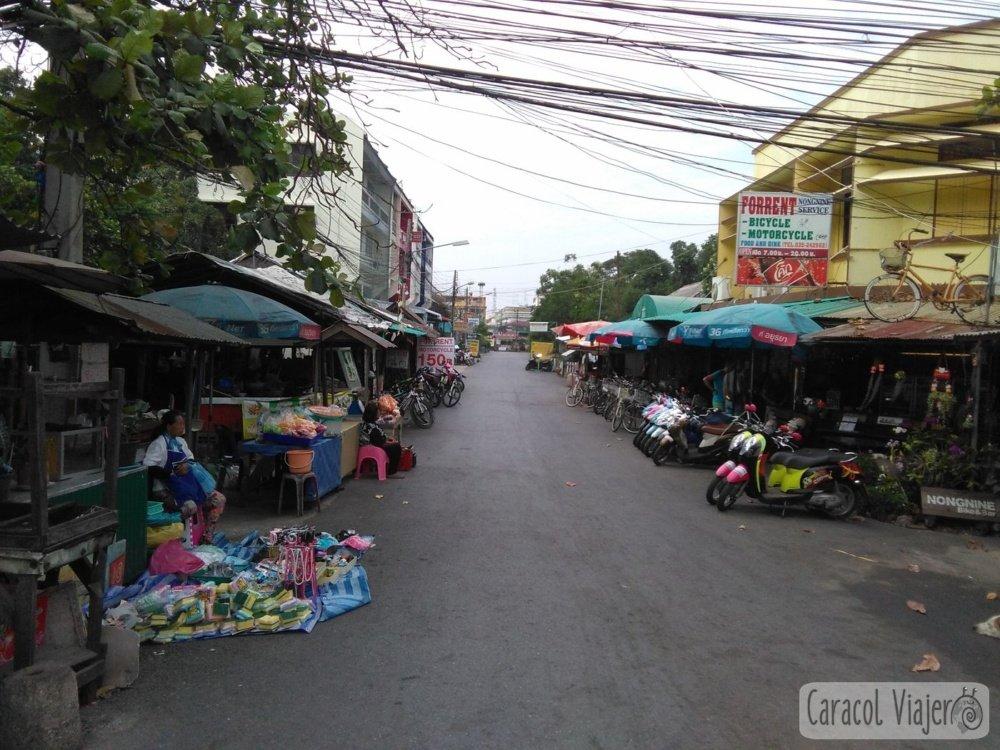 Llegada, alquiler motos Ayutthaya