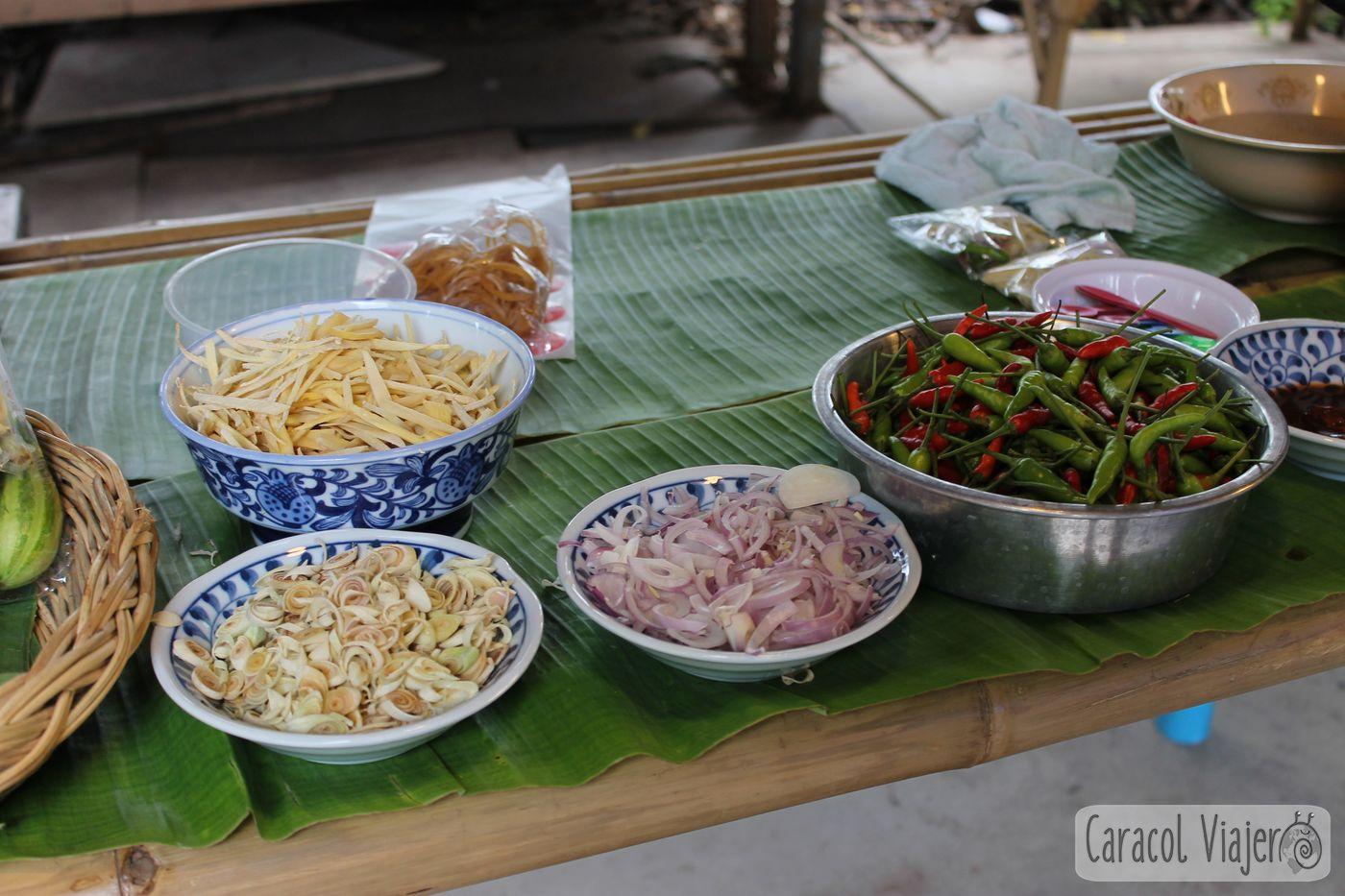 Ingredientes Pad Thai