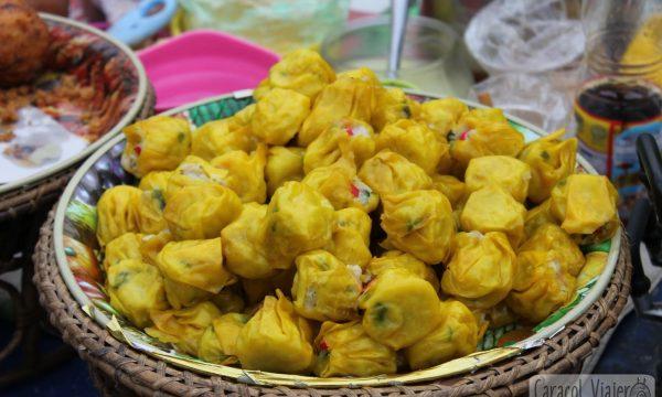 Dim Sum de cerdo y bambú al vapor | Aperitivos chinos