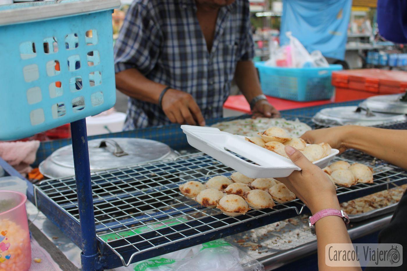 khanom krok Ayutthaya