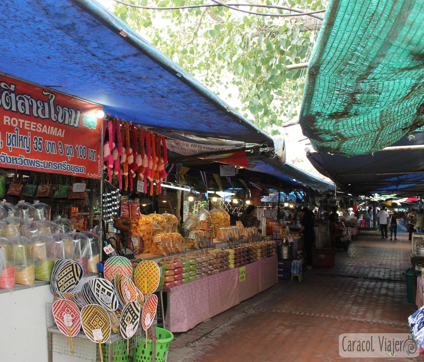 Mercado ayutthaya