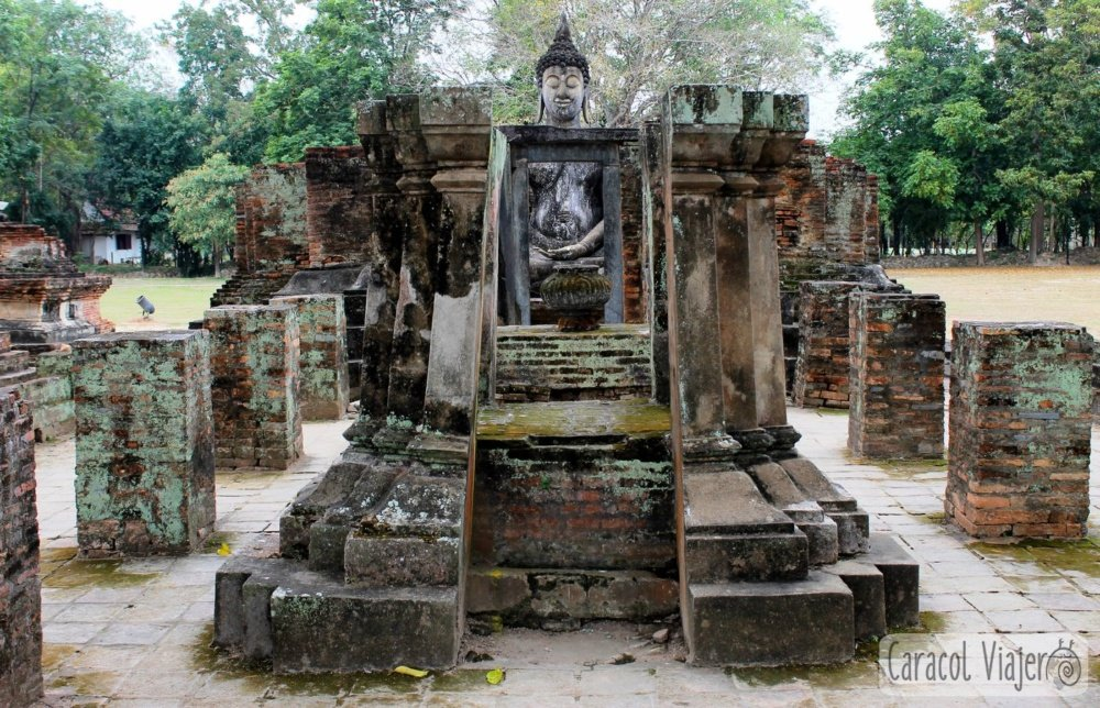 Wat Si Chum, Sukhothai. Tailandia