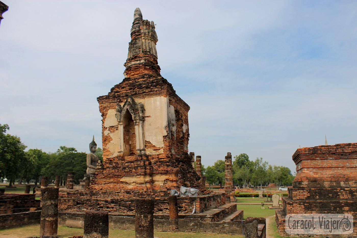 Wat sa si Sukhothai, Tailandia