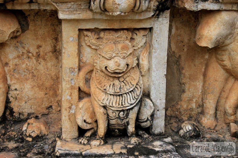Gárgola, Wat Sa Si Sukhothai, Tailandia