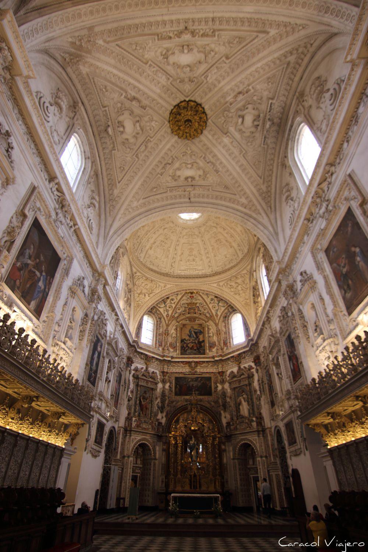 Interior de la cartuja Granada