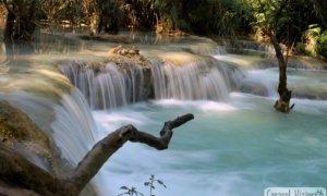 Kuang Si Waterfalls cómo llegar