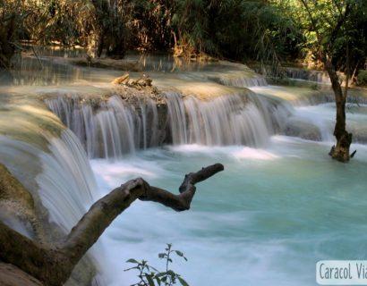 ¿Cómo llegar a Kuang Si Waterfalls desde Luang Prabang?
