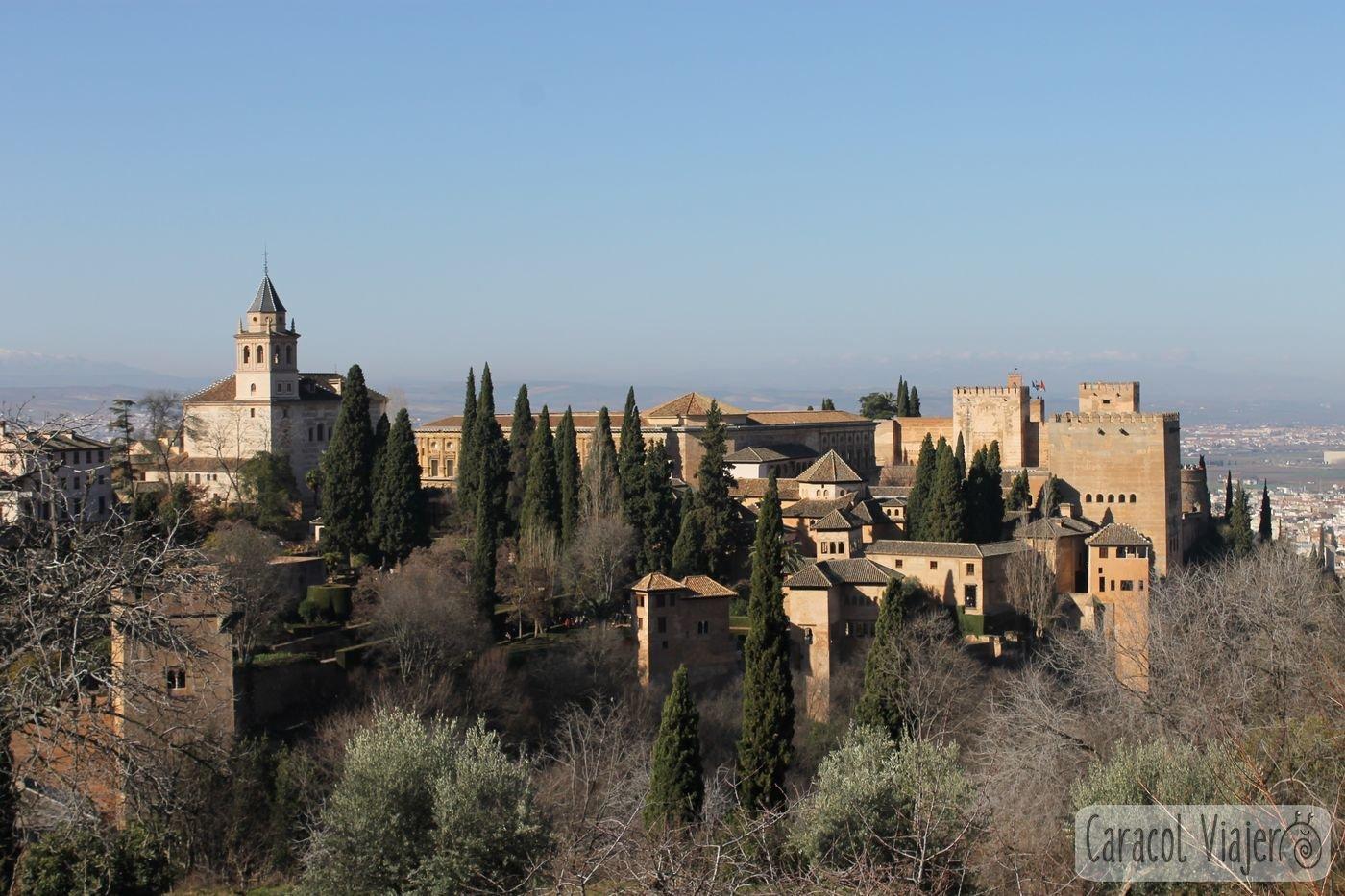 Vistas Generalife, escapadas a Granada