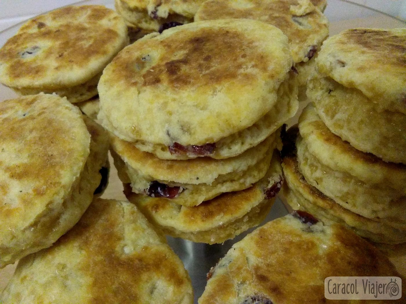 Welsh cakes o galletas galesas