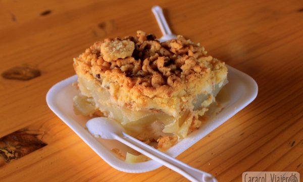 Pastel de manzana alemán | Receta de Streusel
