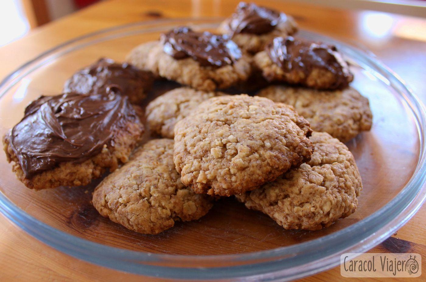 Galletas digestive caseras con o sin chocolate   35 min