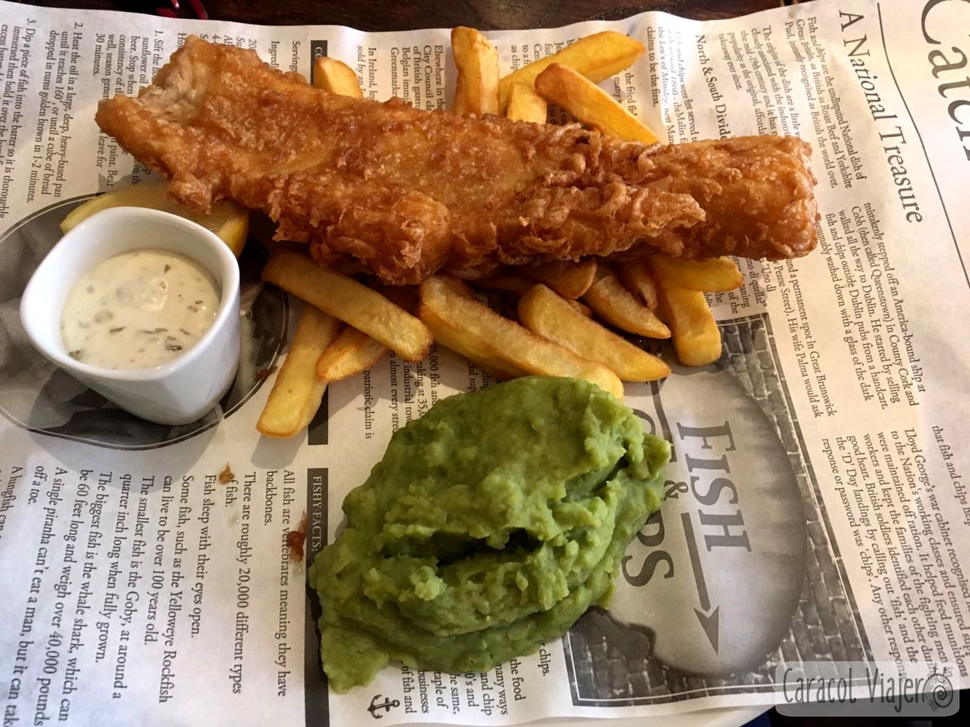 Fish and Chips en Escocia