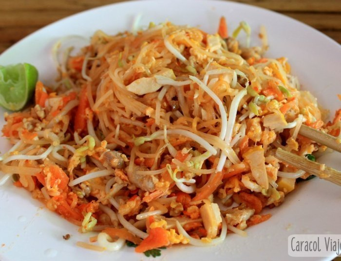 Pad Thai  – Tallarines al estilo tailandés