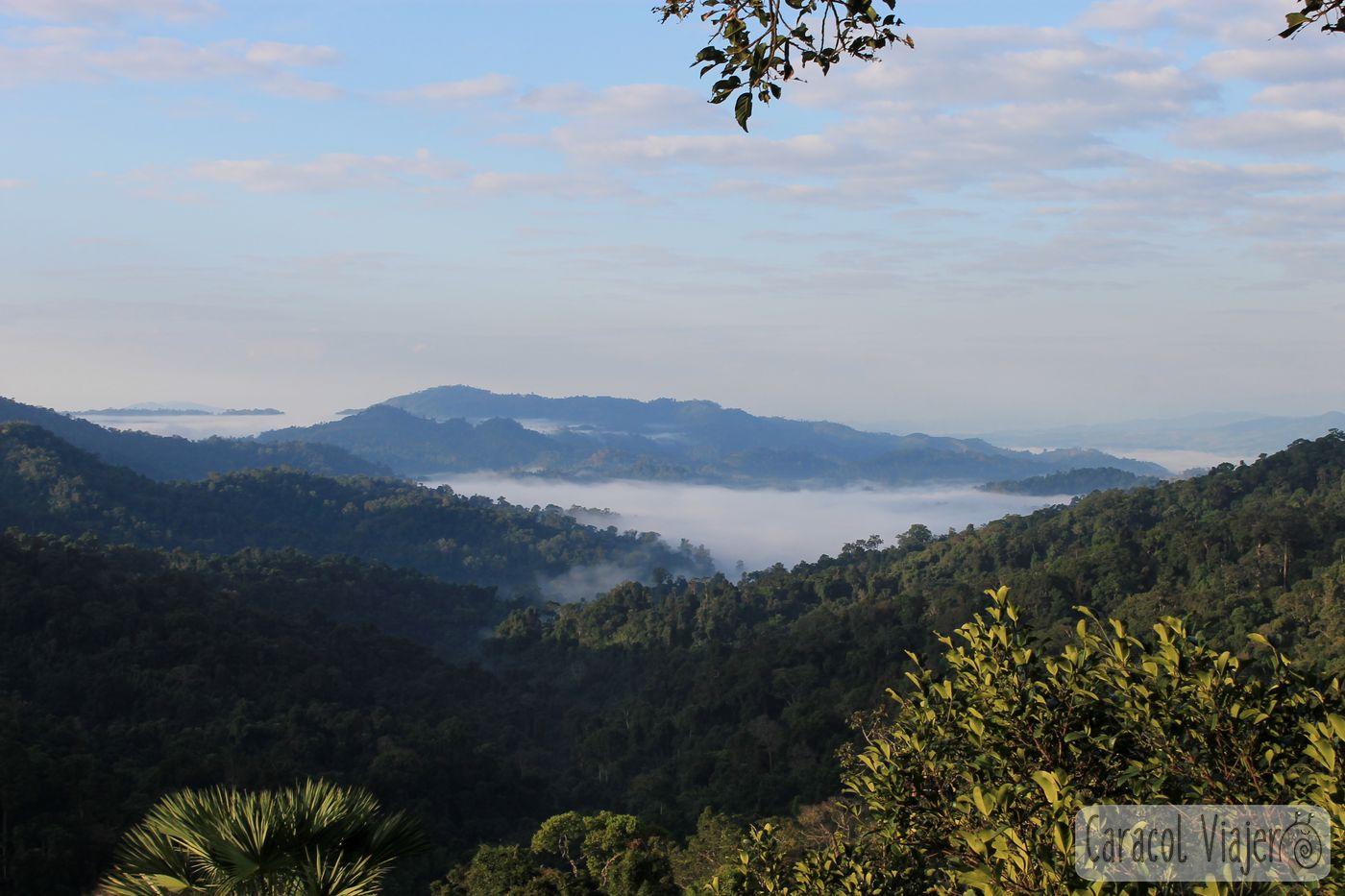 tirolinas en Laos