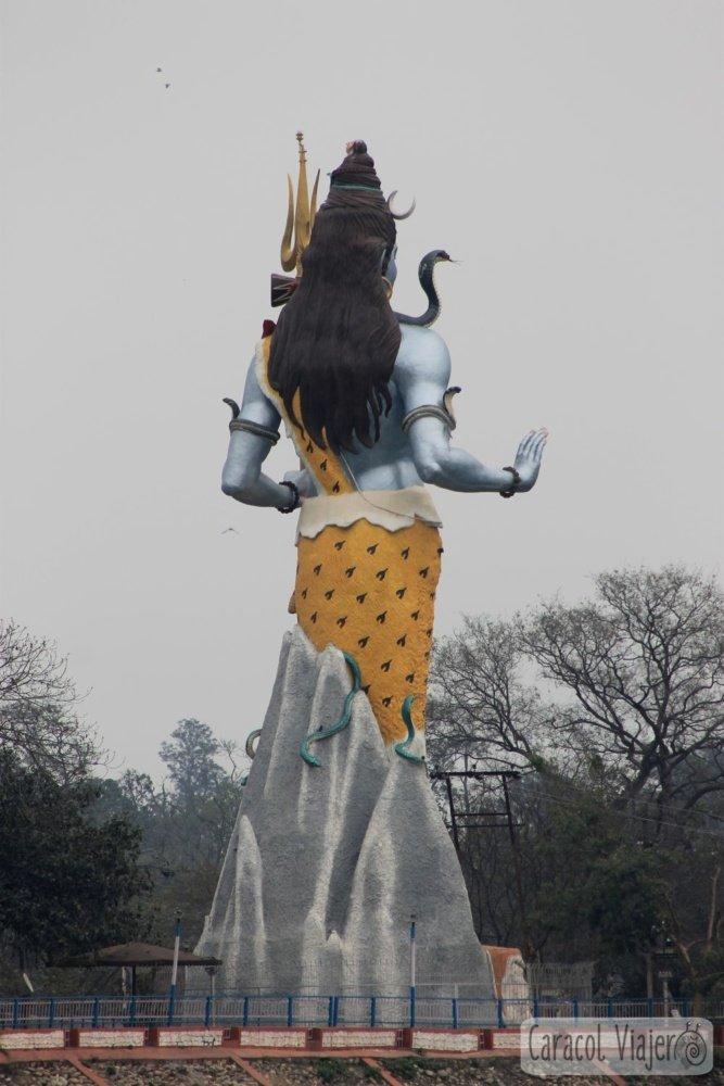 Dios Shiva en Haridwar