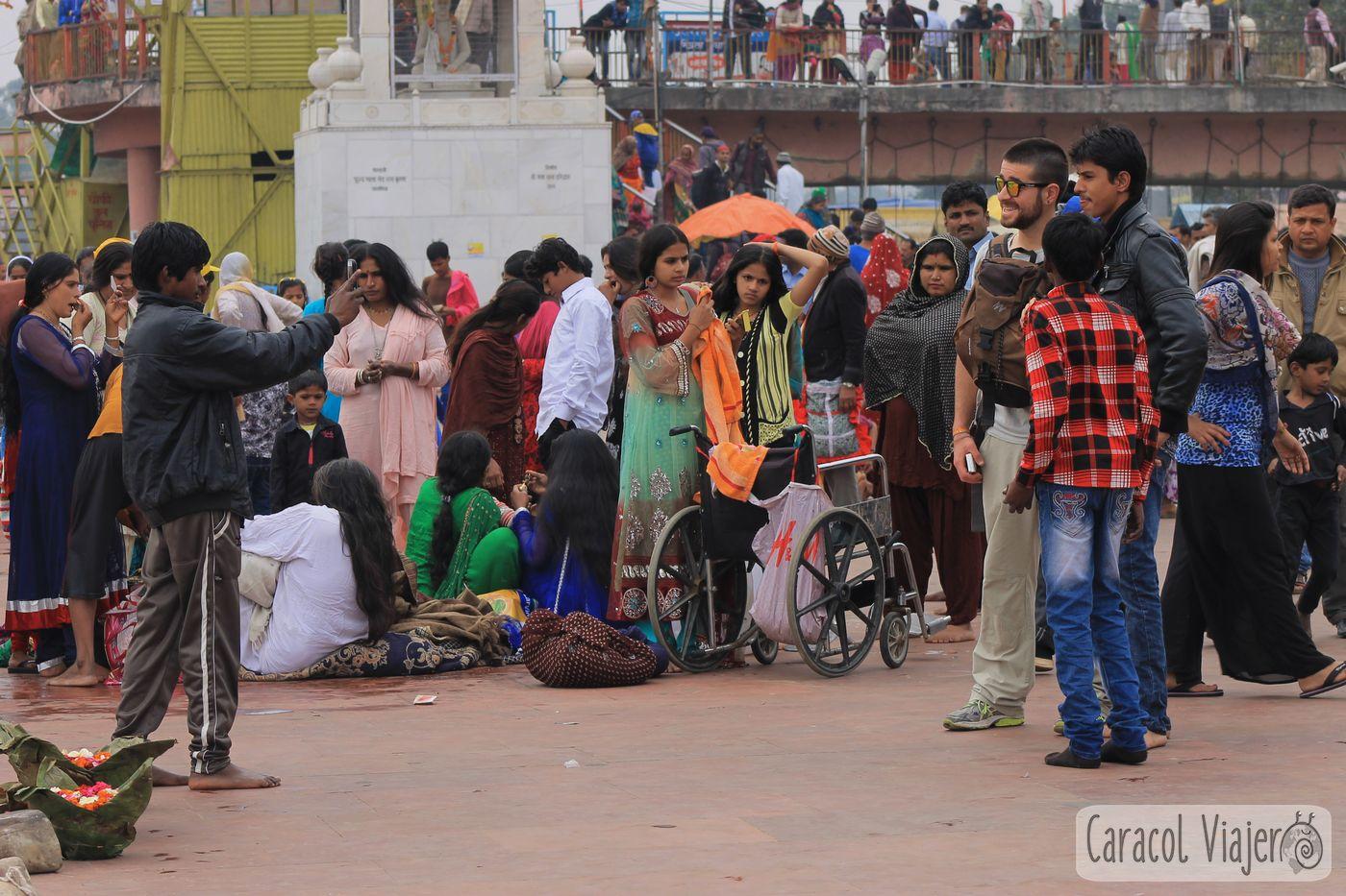 Expectación por los turistas en Haridwar,