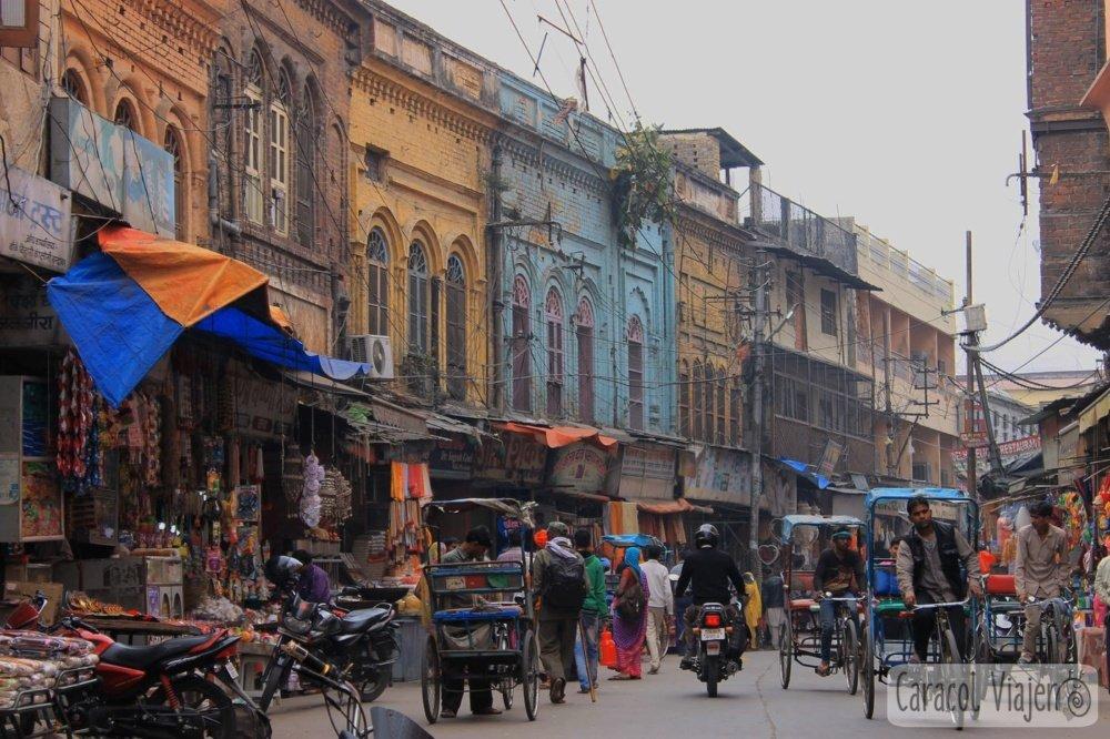 Calle principal Haridwar