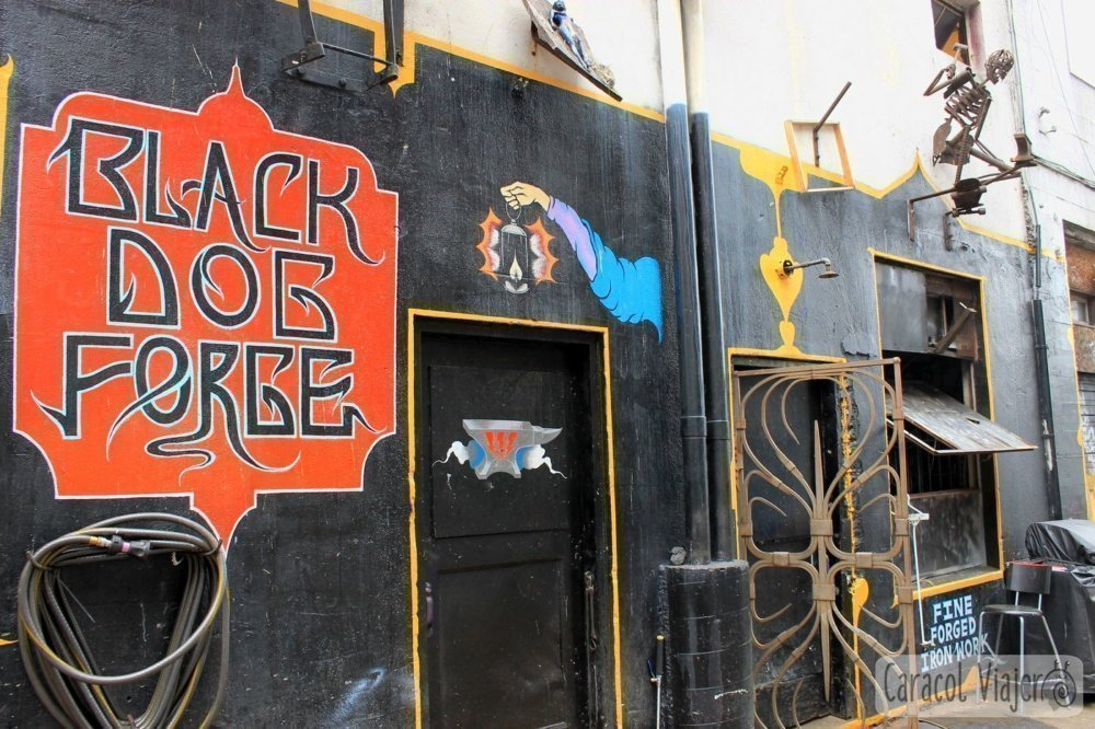 Ruta del grunge en Seattle: Black dog forge