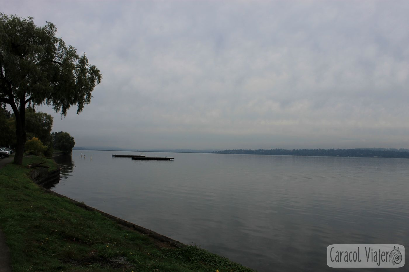 Ruta del grunge en Seattle: Lake Washington. Cobain ashes