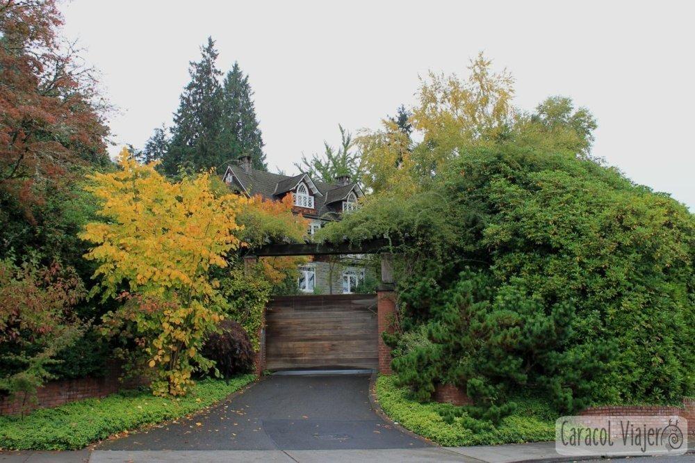 Ruta del grunge en Seattle: Casa donde murió Kurt Cobain