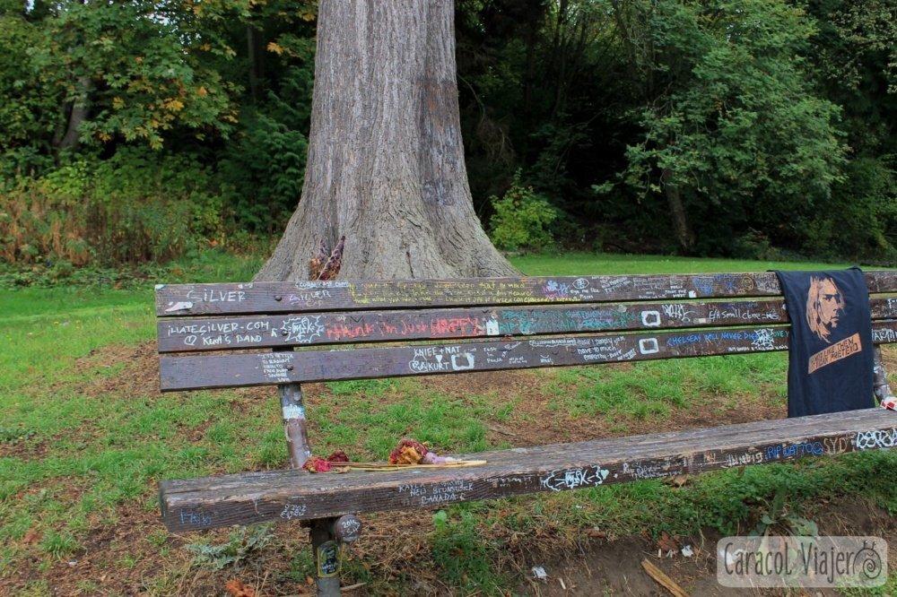 Ruta del grunge en Seattle: Viretta Park, casa Kurt Cobain, Seattle