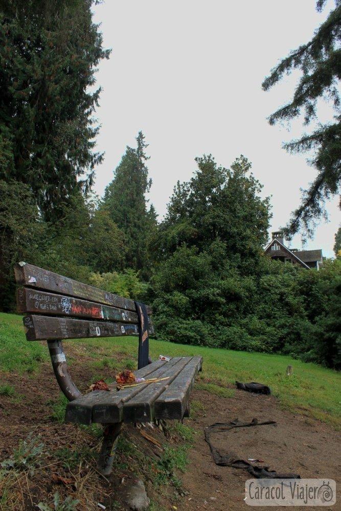 Seattle, Kurt Cobain. Vistas a la casa de Viretta Park