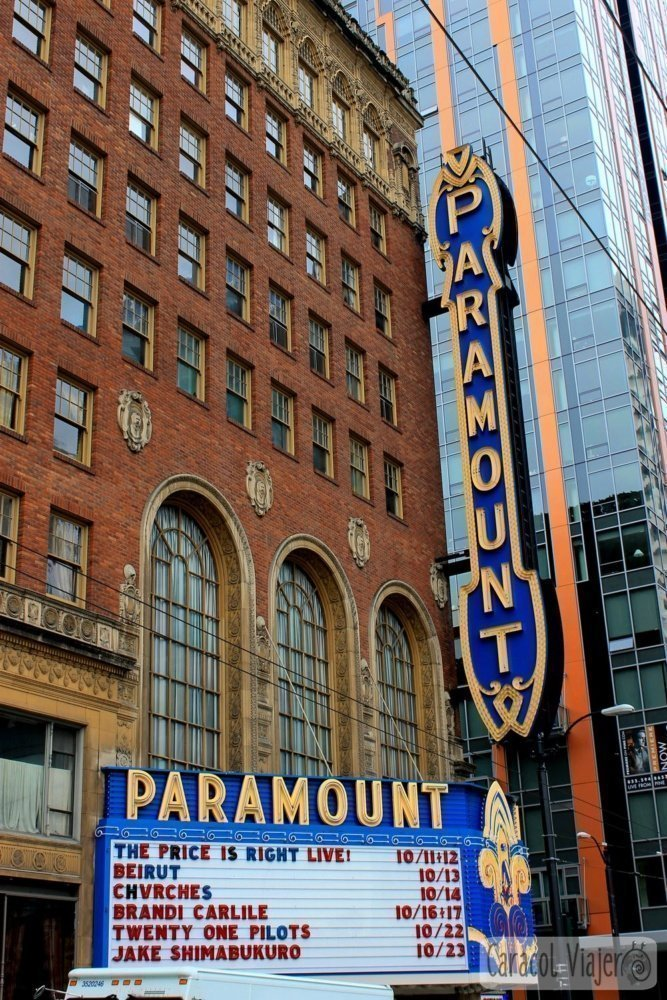 Ruta del grunge en Seattle: The Paramount Theatre